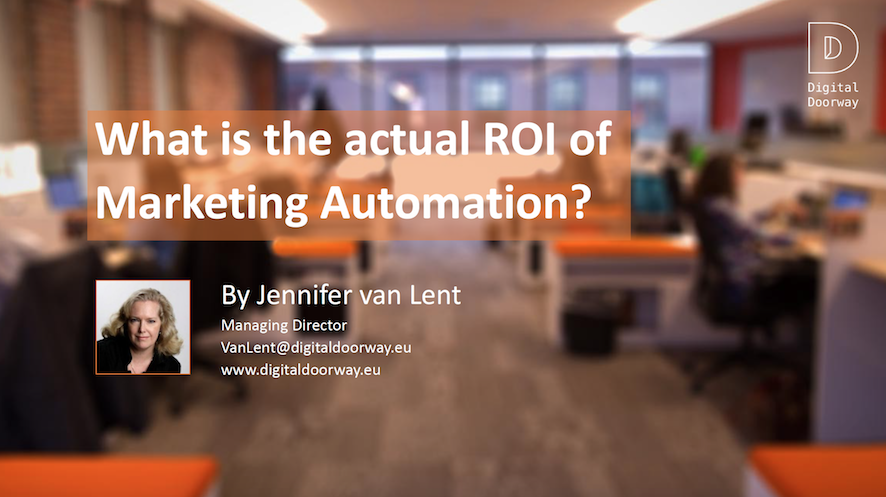 What is the actual ROI of Marketing Automation